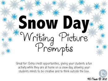 Snow Day Picture Prompts