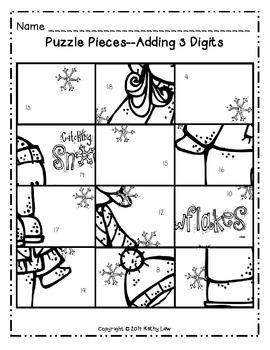 Snow Day Picture Puzzle