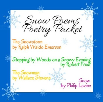Snow Day Poetry: Poems about Winter and Snow