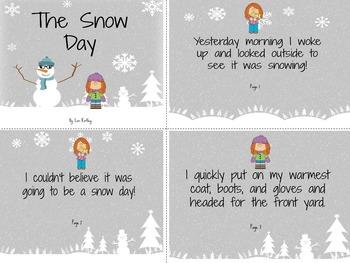 Snow Day Reproducible Book