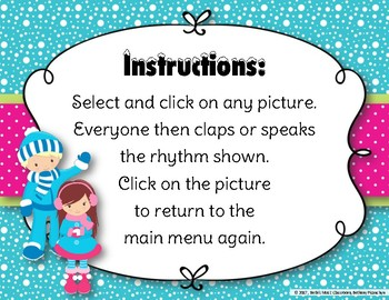 Snow Day Rhythms! An Interactive Rhythm Game to Practice Ti tam/Dotted Quarter