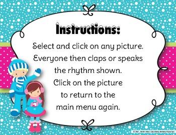 Snow Day Rhythms! An Interactive Rhythm Game to Practice Tika-tika