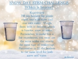 Snow Day STEM Challenges