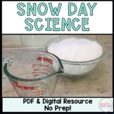 Snow Day Science Activity
