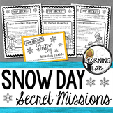 Snow Day - Secret Mission Challenge