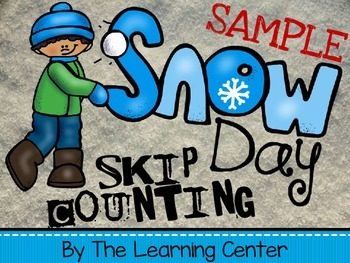 Snow Day Skip Counting SAMPLE