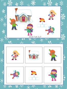 Snow Day Slam!  A Fast-paced Game for Receptive and Expressive Language Skills