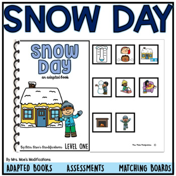 Snow Day- Social Skills- Special Ed and Speech Supports