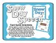 Snow Day Speech Articulation Card Game for S