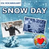 Snow Day Vocabulary for ESL