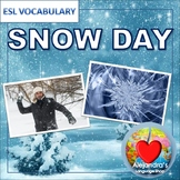 Snow Day Vocabulary for ESL