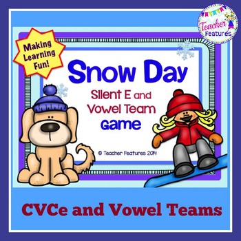 Snow Day: Silent E & Vowel Team Game