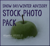 Snow Day/ Winter Advisory Stock Photos