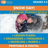 Snow Day! | Winter Persuasive Paragraph | Argumentative Writing Activity