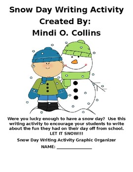 Snow Day Writing Activity Packet