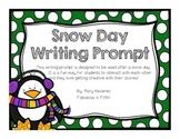 Snow Day Writing Prompt