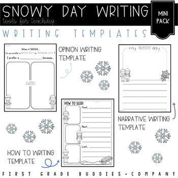 Snow Day Writing Prompts