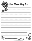 Snow Day Writing Templates