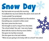 Snow Day - Writting Prompt