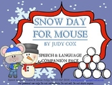 """""""Snow Day for Mouse"""" Speech and Language Companion"""