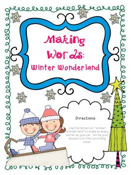 Snow Day...Snow PLAY!!! {10 Winter Themed CCSS Literacy Activities}