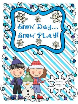 Snow Day...Snow PLAY!!! {10 Winter Themed CCSS Literacy Ac