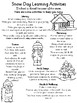 Snow Days Home Learning Tasks