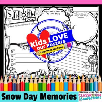 Snow Days Activity Poster