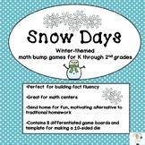 Snow Days Winter-Themed Math Bump