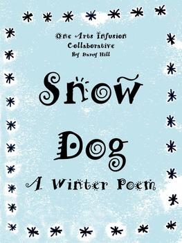 Snow Dog Winter Poem
