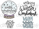 Snow Doodles Digital Clip Art Set