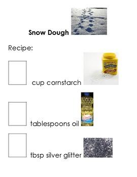 Snow Dough Adapted Recipe