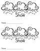 Snow - Emergent Reader