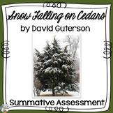 Snow Falling on Cedars Test