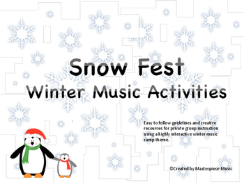 Snow Fest Winter Music Camp Manual