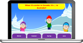 Snow Fight quiz game template