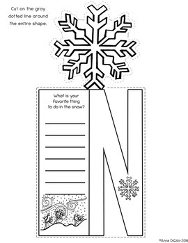 Snow Flip Flap Book®