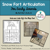 Snow Fort Articulation - Early Sounds