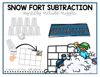 Snow Fort Subtraction