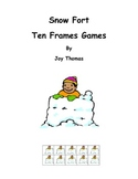 Snow Fort Ten Frames Games