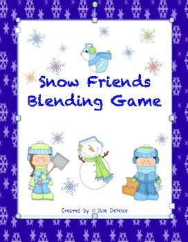 Snow Friends Blending Game
