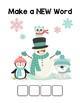 Snow Friends Make-a-Word (-ump, -amp, -imp, -omp Word Families) Phonics Pack I