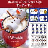 Editable Winter Math Activities~Teaching the Meaning of the Equal Sign