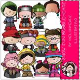 Snow Fun Bobbleheadz by Melonheadz