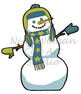 Snow Fun Clip Art