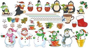 Snow Fun Clipart Graphics
