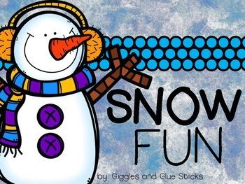 Snow Fun Literacy Unit