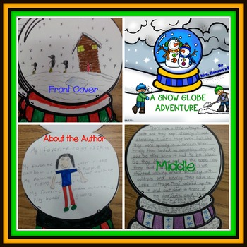 Snow Globe Adventure Booklet and Writing Activities