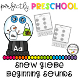 Snow Globe Beginning Sounds and Letters