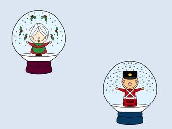 Snow Globe Clip Art Collection